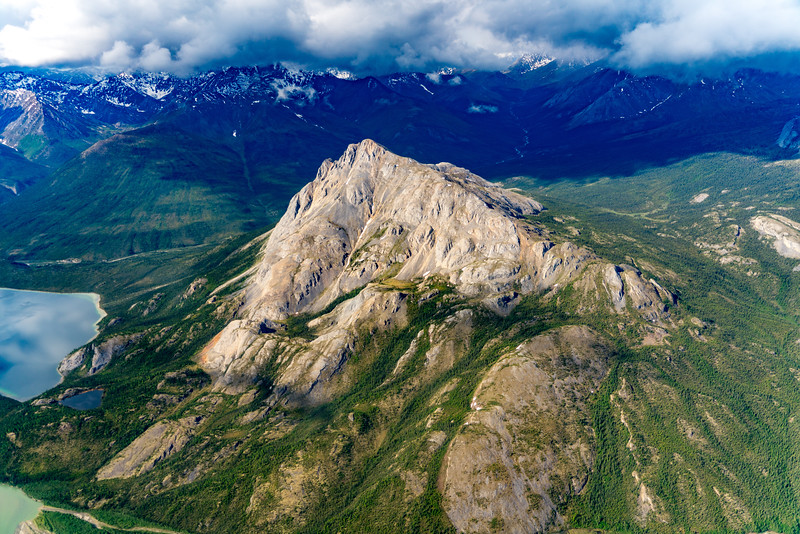 Mountains in Gate of the Arctic National Park
