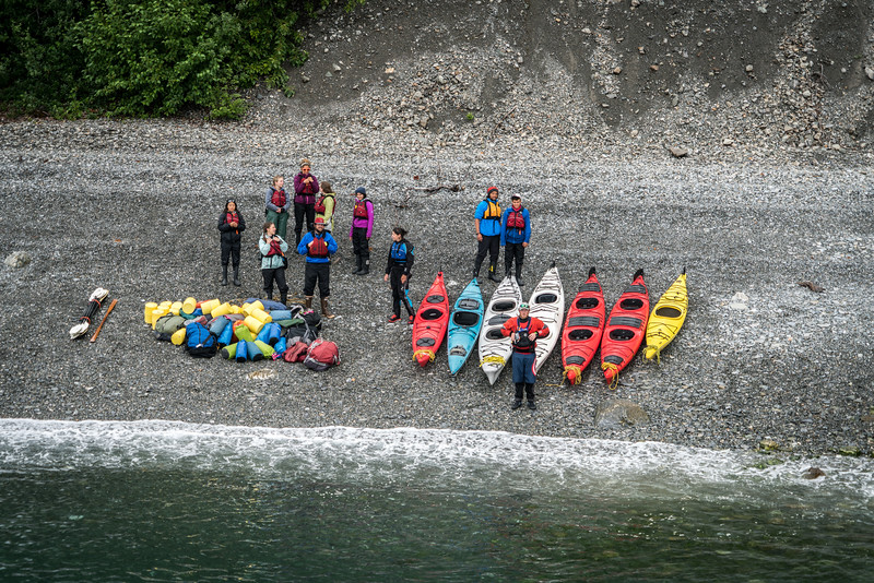 Kayaking in Glacier Bay National Park