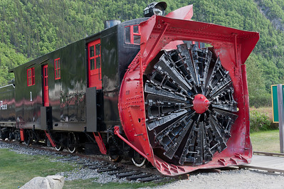 White Pass and Yukon Rotary Snow Plow No.1