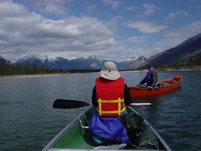 Alberta canoeing 2002