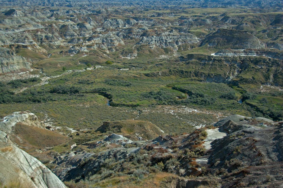 UNESCO World Heritage Site #97: Dinosaur Provincial Park
