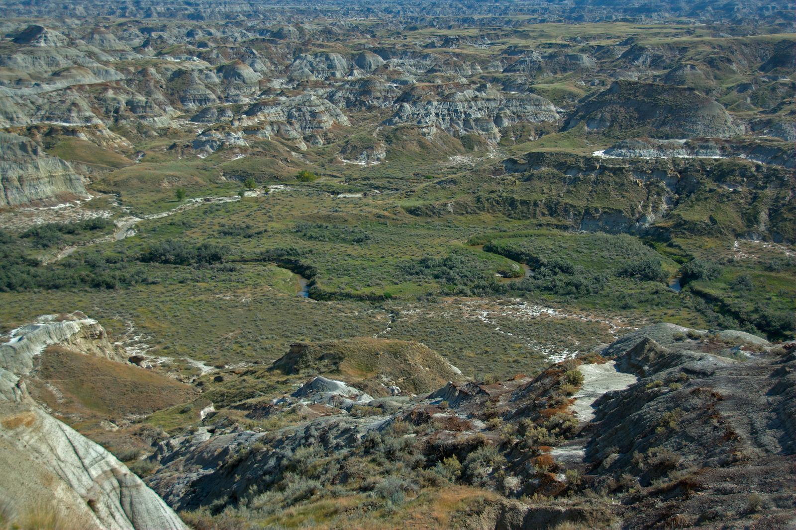 Dinosaur Provincial Park UNESCO World Heritage Site, Canada