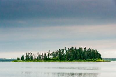 Elk Island National Park in Alberta, Canada