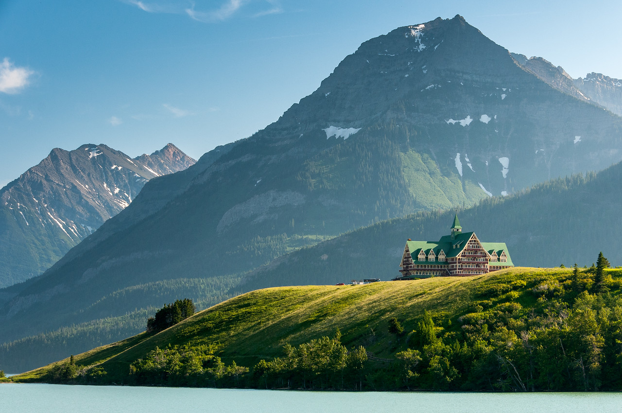 Prince of Wales Hotel, Waterton Lakes National Park, Canada