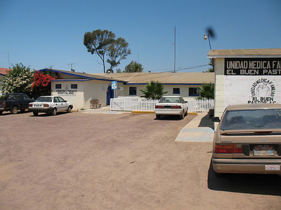 the hospital in St. Quintin. A week's mission 8/2008 with David Colwell.