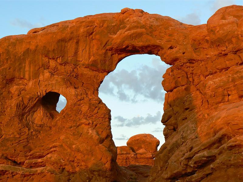 Sunrise at Turret Arch