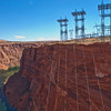 Glen Canyon Dam electrical towers