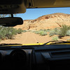 Hummer ride on the way to the slot canyons