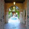 Entrance to Tohno Chul Tea Room, Tucson, Arizona