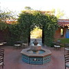 Tohono Chul Tea Room courtyard, Tucson, Arizona