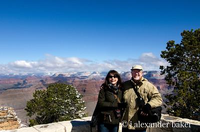Grand Canyon gets kinda cold