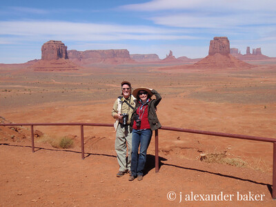 Intrepid explorers in Monument Valley