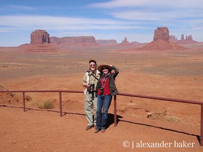 Intrepid explorers in Monument Valley