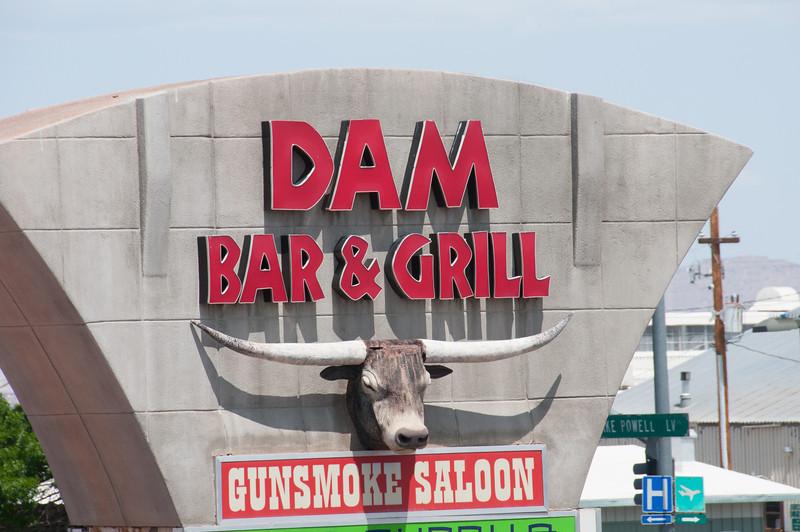 Bar & grill in Page, Arizona, USA