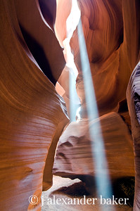 Antelope Canyon Sunbeams