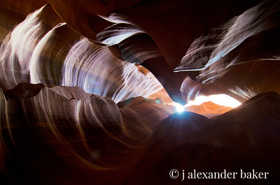 Apogee at Antelope Canyon