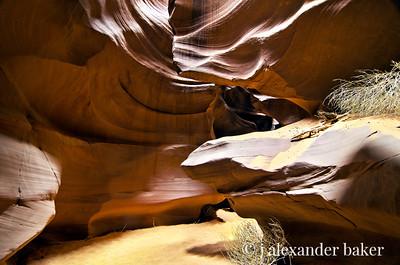 Antelope Canyon Floor