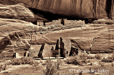 White House Ruins, Canyon De Chelly HDR version