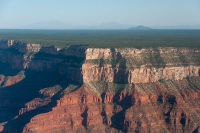 Red sandstone cliffs at Grand Canyon National Park in Arizona, USA
