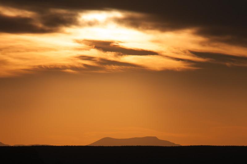 Beautiful sunset in Grand Canyon in Arizona