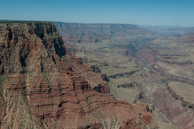 Cliffs at Grand Canyon in Arizona, USA