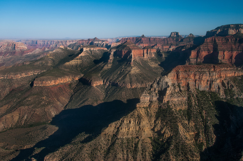 Cliffs at Grand Canyon National Park in Arizona, USA