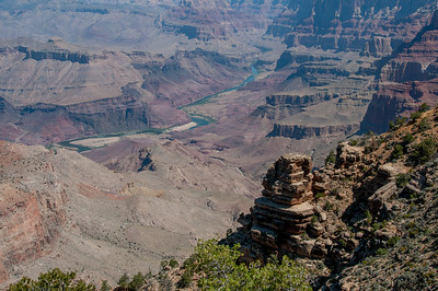 Panorama of Grand Canyon in Arizona, USA