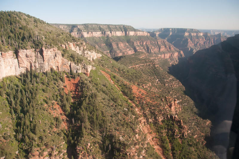 Cliffs at Grand Canyon National Park in Arizona