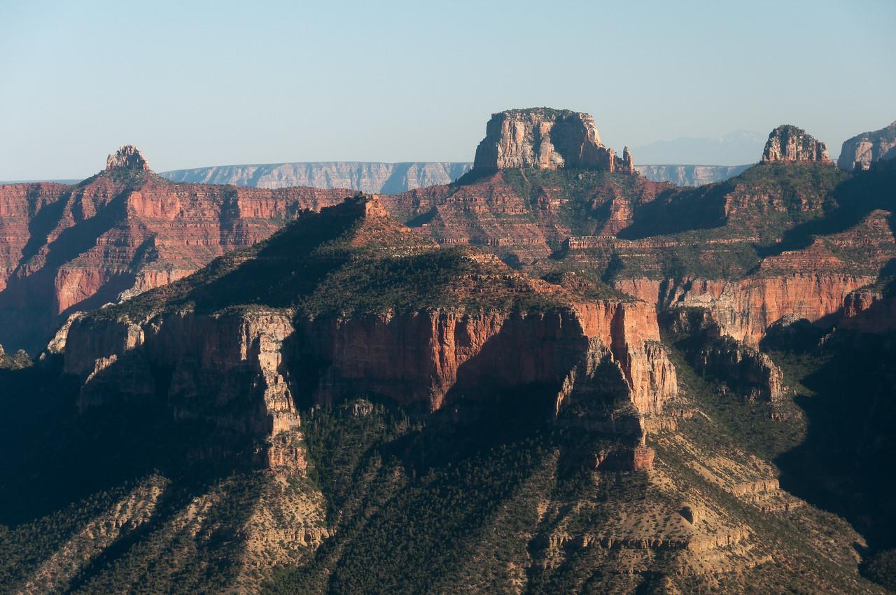 Cliffs at Grand Canyon National Park in Arizona, USA