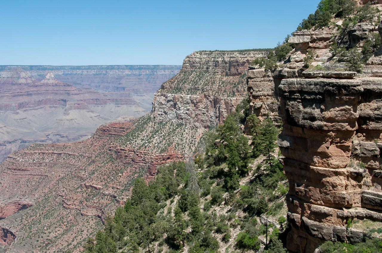 Canyon formation at Grand Canyon National Park in Arizona, USA