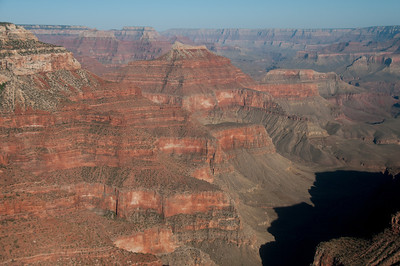 Red sandstone cliffs at Grand Canyon National Park in Arizona