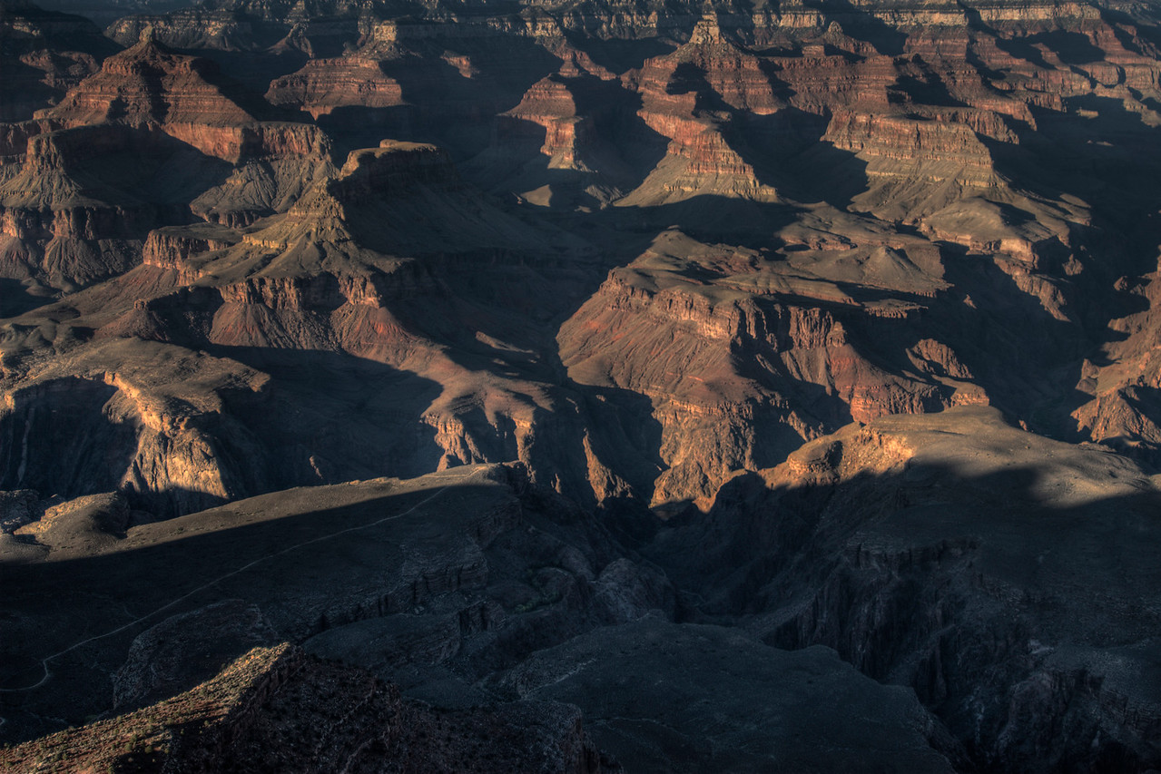 The Grand Canyon National Park in Arizona, USA