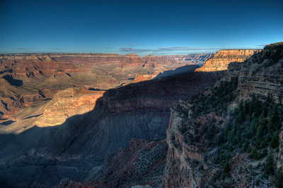 Panorama of Grand Canyon National Park in Arizona, USA