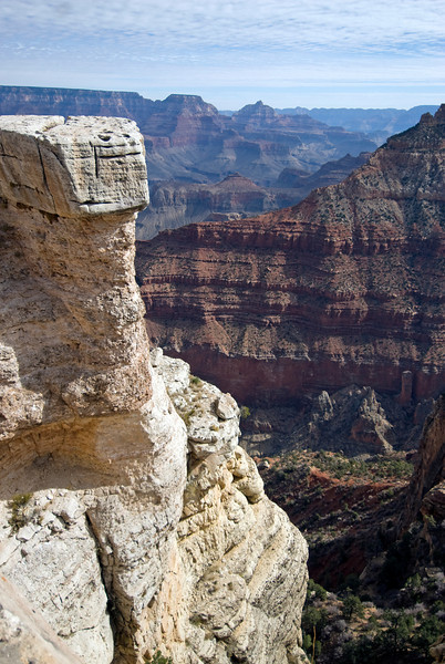 Rock formations at Grand Canyon National Park in Arizona, USA