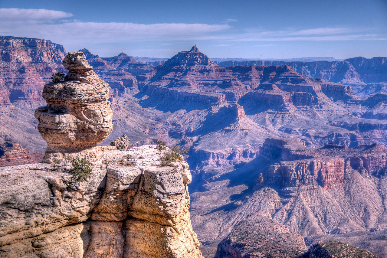 Rock formation at Grand Canyon National Park in Arizona, USA