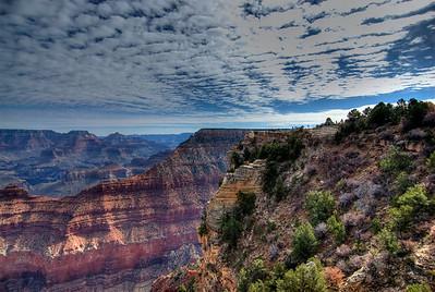 The cliffs at Grand Canyon National Park in Arizona, USA