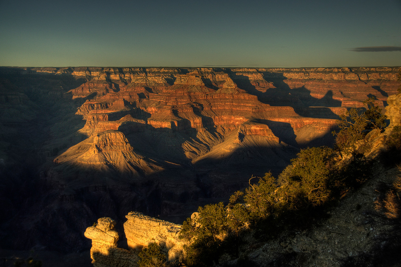 Grand Canyon National Park in sunrise - Arizona, USA