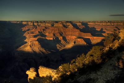 Grand Canyon National Park in sunrise - Arizona, USA