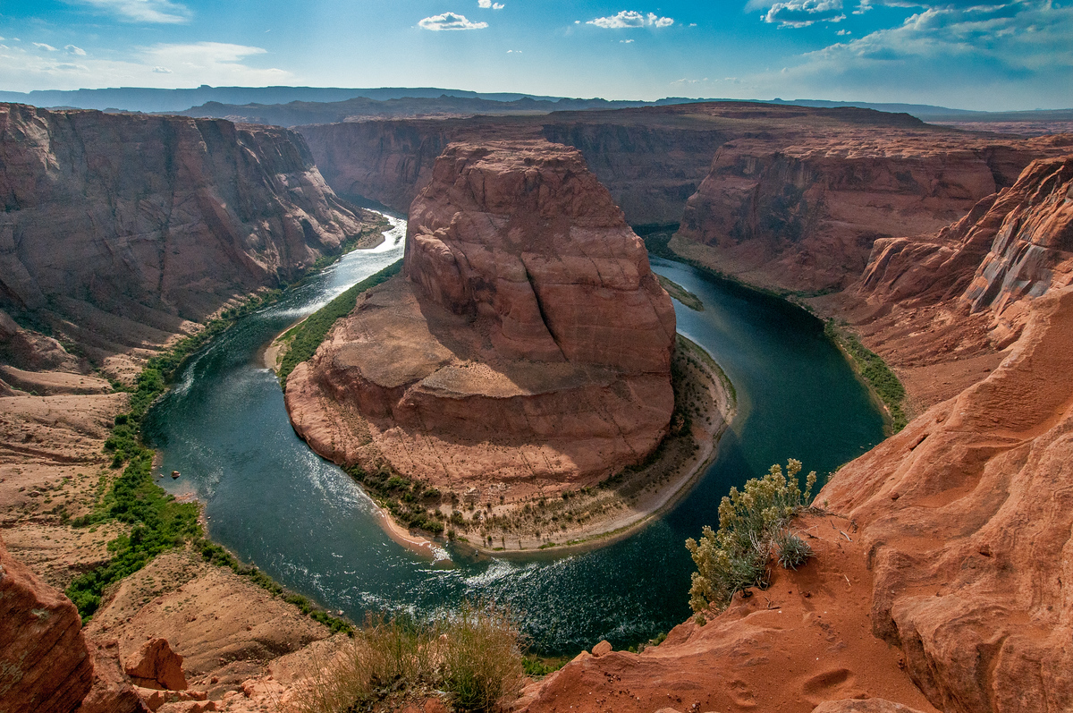 Horseshoe Bend of the Colorado River Near Page, Arizona