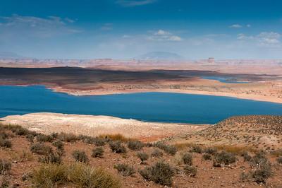 Panorama of Lake Powell in Arizona, USA