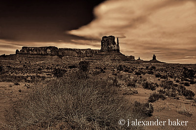 West Mitten, Monument Valley, Navajo Nation USA