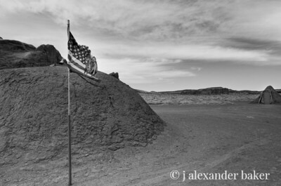 Navajo Hogans, Monument Valley, Navajo Nation, USA