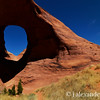 Ear of the Wind Arch, Monument Valley, Navajo Nation, USA