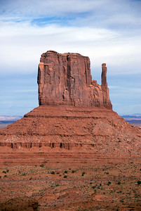 Monument Valley from the valley floor - Colorado, USA