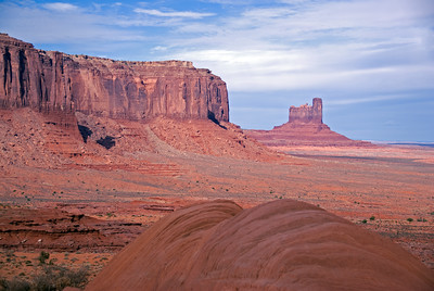 The Monument Valley in Colorado, USA
