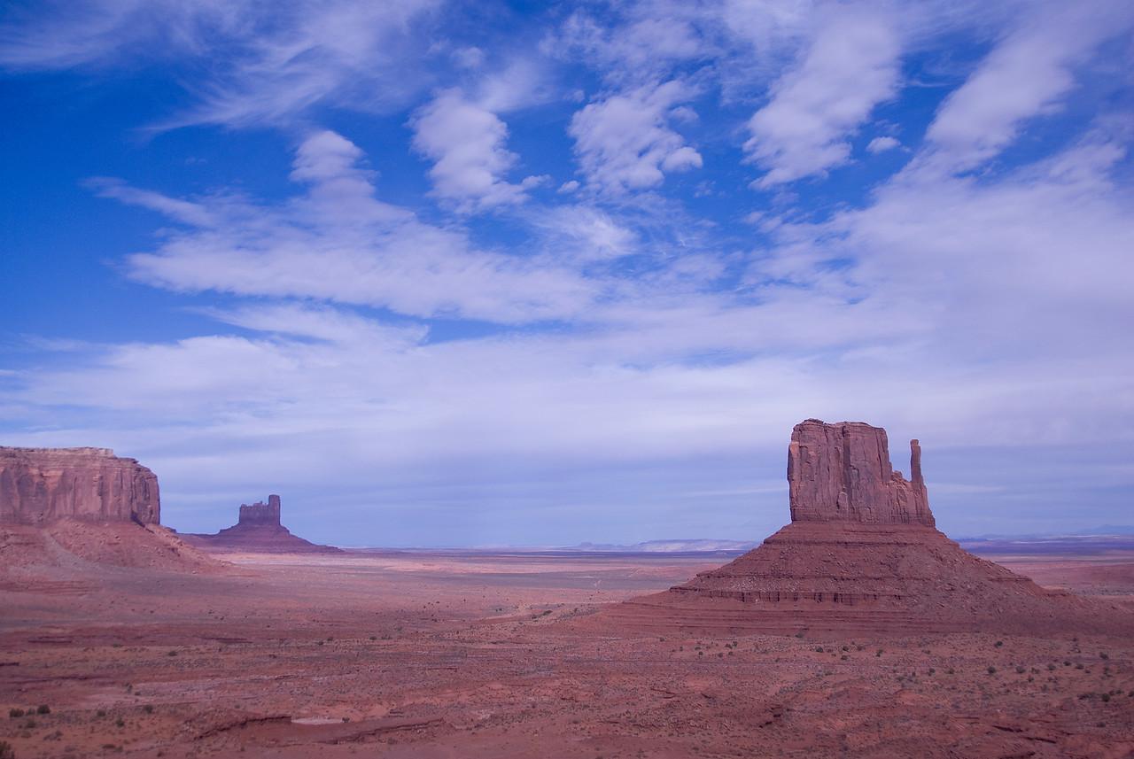 The Monument Valley in Colorado Plateau, Colorado, USA