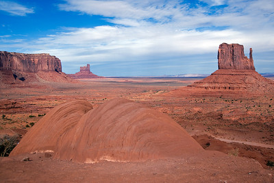 Natural formation in Monument Valley, Colorado, USA