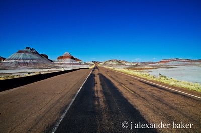 Desolation Row - Painted Desert, Arizona