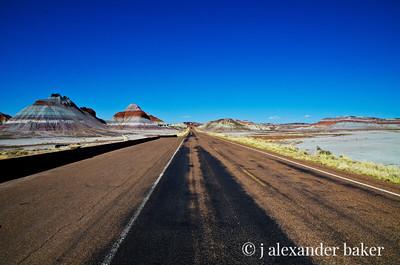 Desolation Row - Painted Desert, Arizona