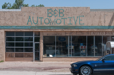 Automotive shop in Seligman, Arizona